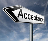 Acceptance — Stock Photo