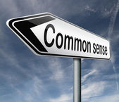 Common sense — Foto de Stock