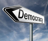 Democracy — Stock Photo