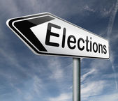 Elections — Stock Photo