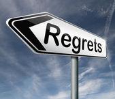 Regret — Stock Photo