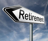 Retirement — Foto Stock