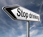 Stop drinking — Stock Photo