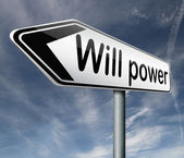 Will power — Foto Stock