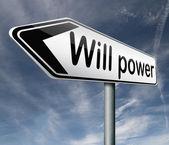 Will power — Stock Photo