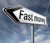 Fast money — Stock Photo