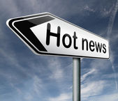 Hot news — Stockfoto