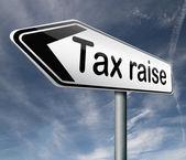 Tax raise — Stock Photo