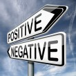 Positive or negative — Stock Photo #18745705