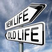 旧的或新的生活 — 图库照片