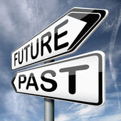 Future or past — Stock Photo
