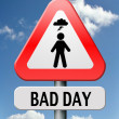 Royalty-Free Stock Photo: Bad day