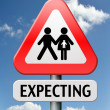 Expecting — Stock Photo