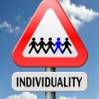 Stock Photo: Individuality