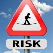 Stock Photo: Risks ahead