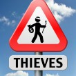 Thieves — Stock Photo