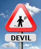 Hell devil — Stock Photo