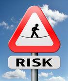 Risks ahead — Stock Photo