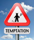 Temptation — Stock Photo