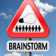 Royalty-Free Stock Photo: Brainstorm