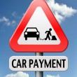 Car payment — Stock Photo #18990257