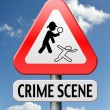 Stock Photo: Crime investigation