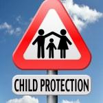 Child protection — Stock Photo