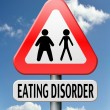 Eating disorder — Stock Photo