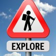 Explore - Stock Photo
