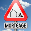 Stock Photo: Mortage house loan