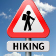 Hiking — Stock Photo