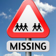 Stock Photo: Missing