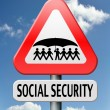 Social security — Stock Photo