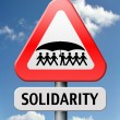 Solidarity — Stock Photo