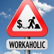 Workaholic — Stock Photo