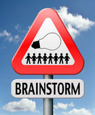 Brainstorm — Stock Photo