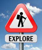 Explore — Stock Photo