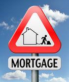 Mortage house loan — Stock Photo