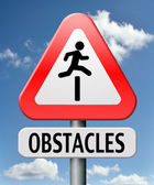 Obstacles — Stock Photo