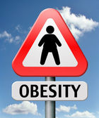 Obesity — Stock Photo