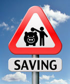 Saving money — Foto Stock