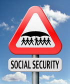 Social security — Stockfoto