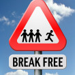 Break free - Stock Photo