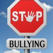 Stock Photo: Stop bullying