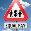 Equal pay - Stock Photo