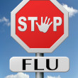 Stock Photo: Stop flu