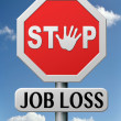 Stop job loss - Stock Photo