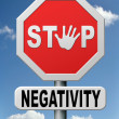 Stop negativity — Stock Photo #19102145