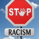 Stop racism — Stock Photo