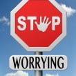 Stop worrying — Stock Photo #19102271